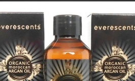 EverEscents organic Argan Oil review.