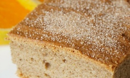 Gluten Free, Low FODMAP, Vegan & Organic Orange Loaf Recipe
