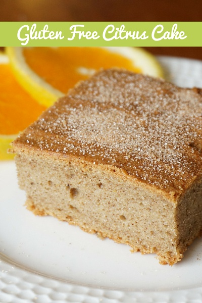 Gluten Free, Low FODMAP, Vegan and Organic Orange Loaf Recipe
