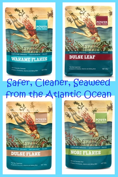 Safe Seaweed Products From Clean Ocean Areas By Power Super Foods