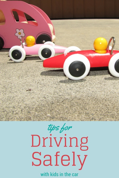 Driving Safely with babies and children in the car
