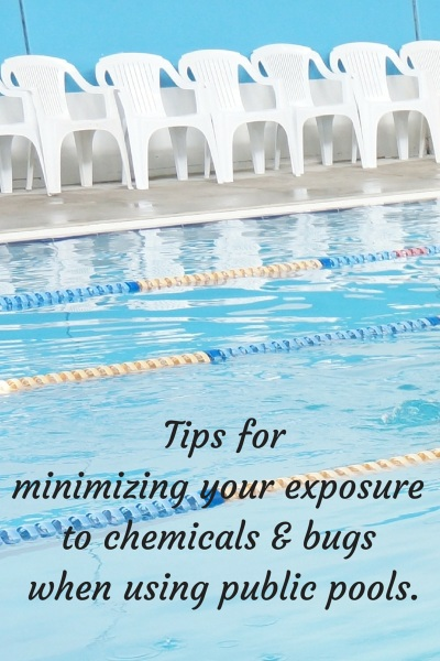 Keep healthy swimming in public pools