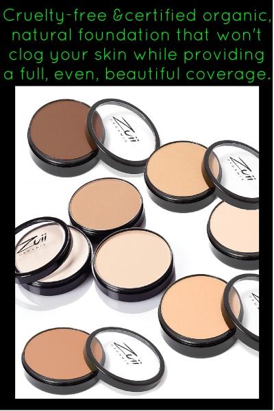 The Best Pressed Powder Organic Foundation By Zuii Organic