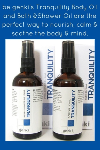 Review Of Be Genki's Tranquility Oils