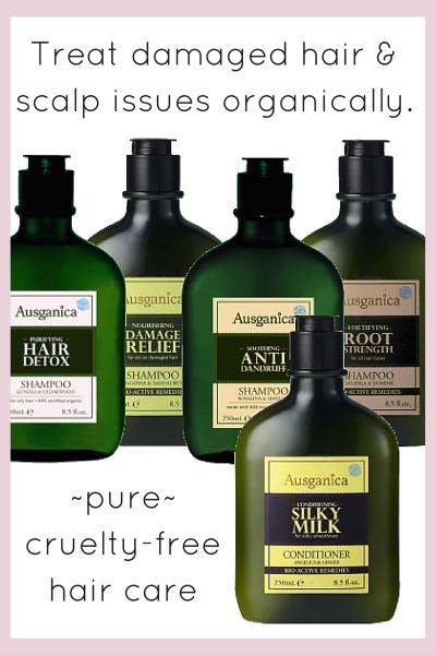 Organic Hair Treatment Shampoos By Ausganica