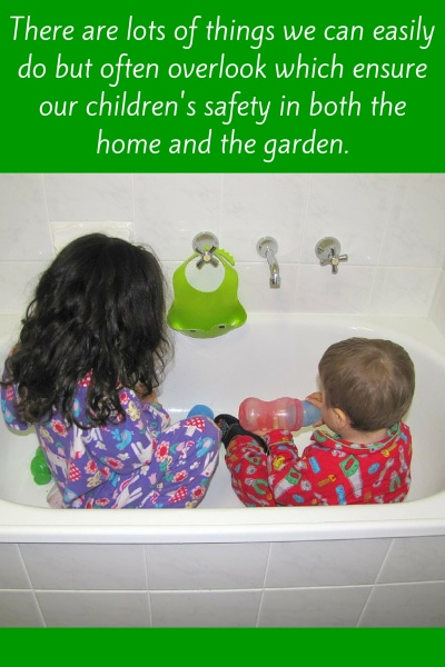Child and Baby Proofing your house and garden