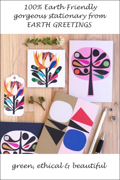 Totally Gorgeous Eco-Friendly Stationary By Earth Greetings