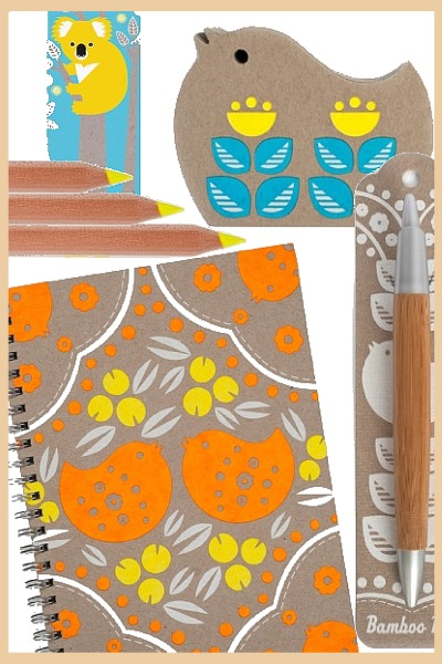 Eco friendly stationary and notebooks by Earth Greetings