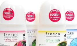 The Most Effective Natural Deodorant, Meet Fresca