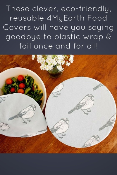 Reusable, Eco-Friendly Food Covers By 4MyEarth
