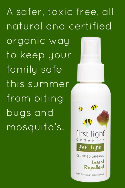 First Light Certified Organic Insect Repellent