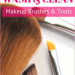 How to clean makeup brushes and cosmetic tools