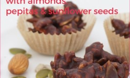 Organic Chocolate Clusters – Easy Vegan Nut & Seed Chocolate Recipe