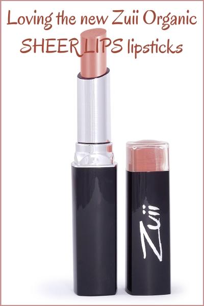 Zuii Organic Sheerlips Lipstick Review