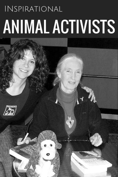 Jane Goodall - Peter Singer - Patty Mark: 3 Inspirational Animal Rights Activists