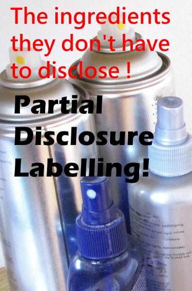 What Partial Disclosure Product Labelling Means