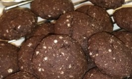 Delicious & Healthy, Vegan, Organic Dark Chocolate, Spelt & Quinoa Cookies