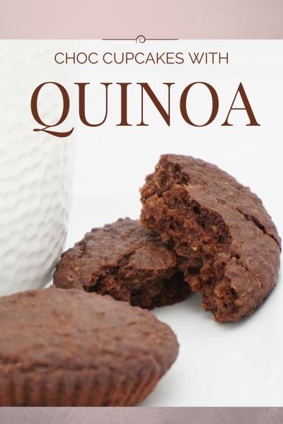 Vegan Chocolate Quinoa Cupcake Recipe