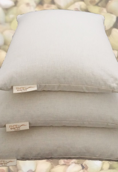 Healthy Organic Cotton Buckwheat Filled Pillows