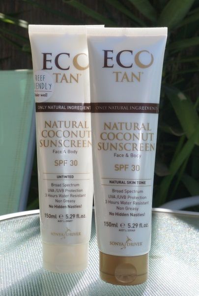 Eco Tan Natural Coconut Sunscreen Product Review