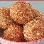 Vegan Quinoa Cinnamon & Coconut Baked Banana Ball Recipe
