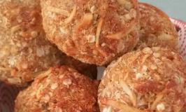 Baked Quinoa, banana cinnamon and coconut balls recipe