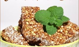 Low Fodmap Raw Vegan, Organic Choc Mint Protein Slice