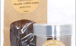 Spearmint Crush Organic Coffee Scrub by Handmade Naturals