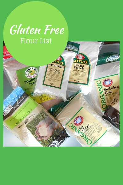 A Comprehensive Guide To Gluten Free Flours