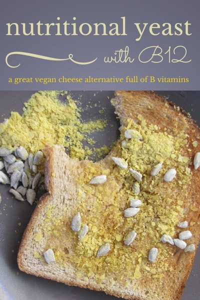 Organic Coconut Oil, Nutritional Yeast and Sunflower Seed Toast