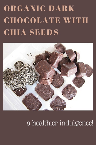 Easy Organic Dark Chocolate With Chia Seeds Recipe