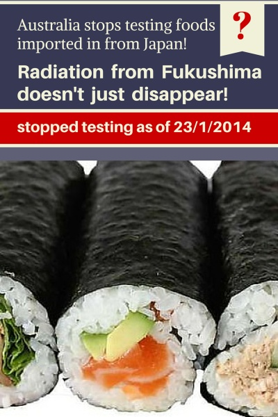Testing For Radiation In Foods Imported From Japan