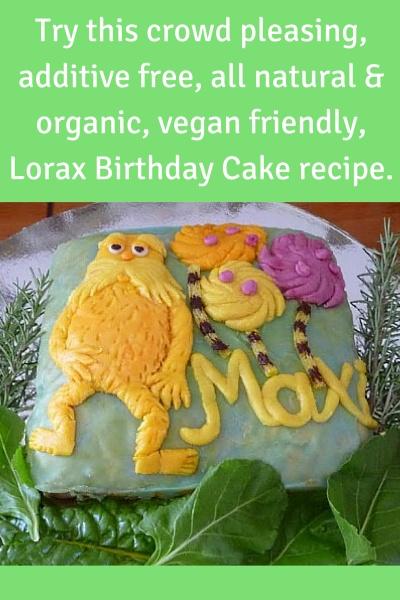 All Natural, Vegan, Kids Birthday Cake Recipe