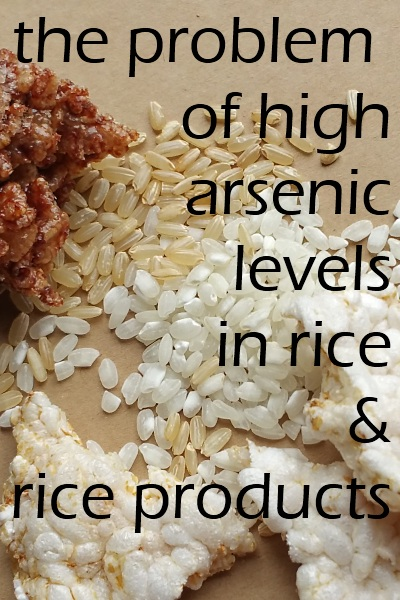 Rice Contains High Arsenic Levels