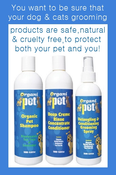 Healthy Benefits Of Organi Pet Natural Dog Grooming Products