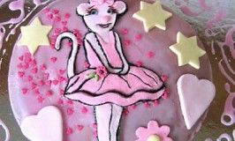 Vegan Natural Angelina Ballerina Cake