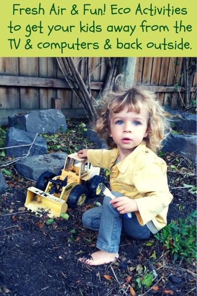 Fun Eco Outdoor Activities For Kids