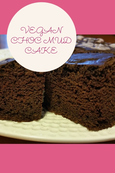 Easy Vegan Chocolate Mud Cake