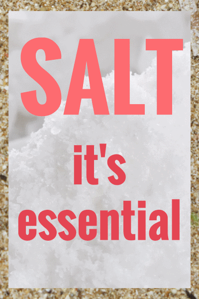 The Reasons Why We Need Salt In Our Diets