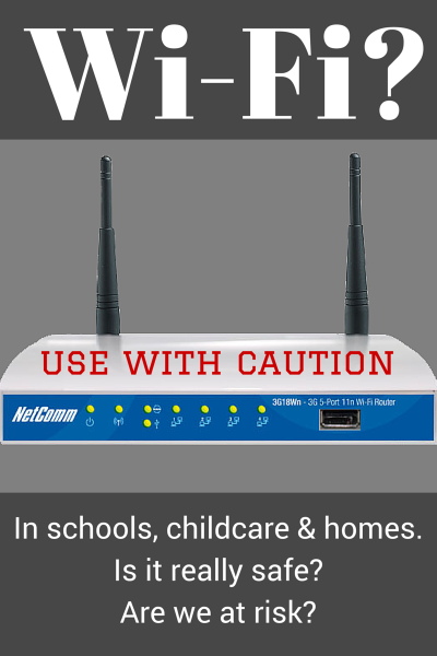 The Health Risks of WiFi to Children
