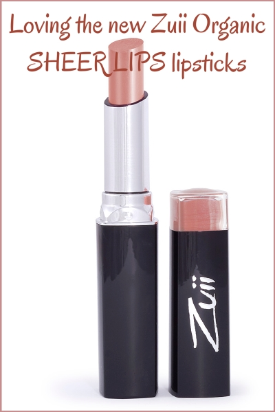Zuii Organic Sheerlips Lipstick Review
