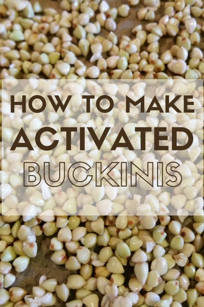 How To Make Activated Buckinis - Living Safe