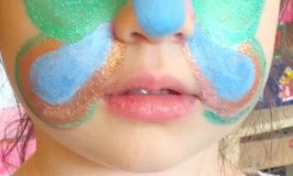 Natural Mineral Face Painting For Kids