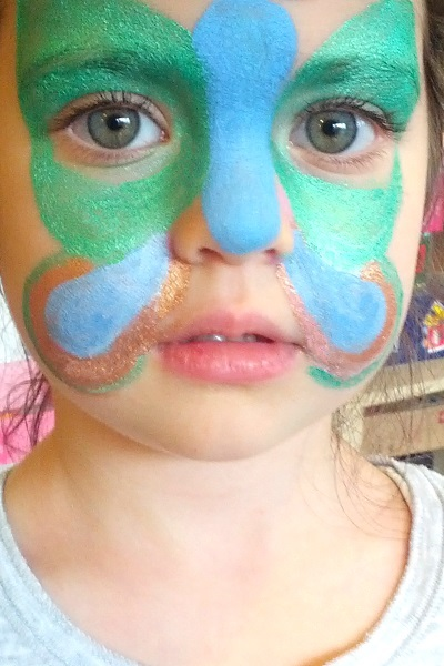 Natural, Safer, Healthier & Cleaner Kids Face Painting