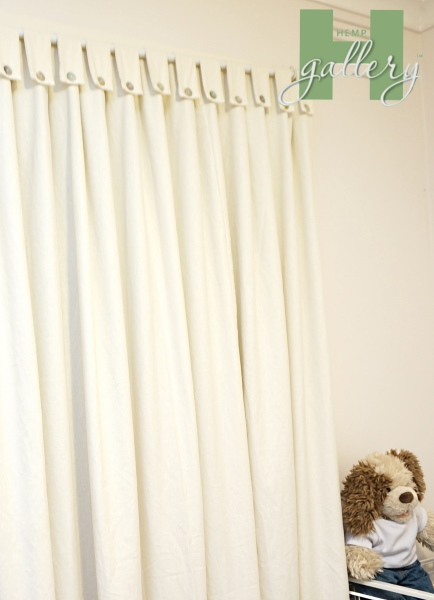 Hemp Curtains are Healthier, Eco-Friendly and Safer.