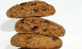Vegan Banana Spice Choc Chip Quinoa Cookies