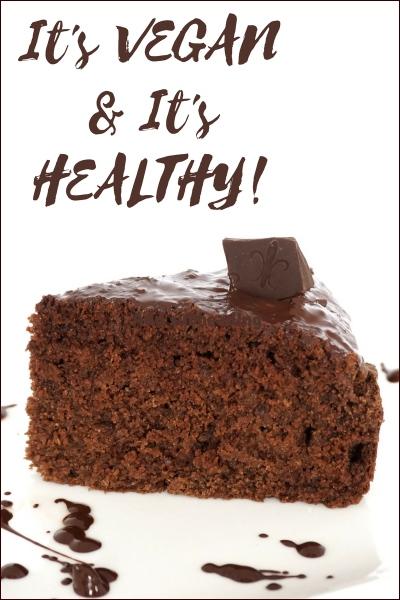 healthy vegan banana choc cinnamon cake