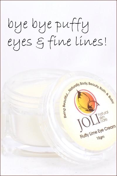 Joli Natural Fluffy Lime Vegan Eye Cream