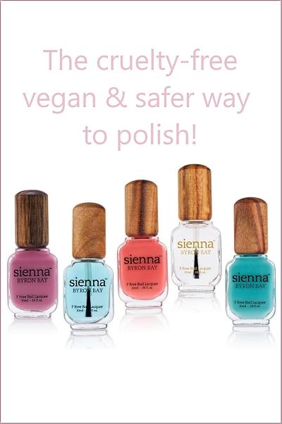Sienna Byron Bay Vegan Safer Nail Polish
