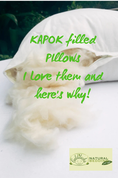 Kapok Pillows Are A Healthier, Eco Friendlier Way To Sleep